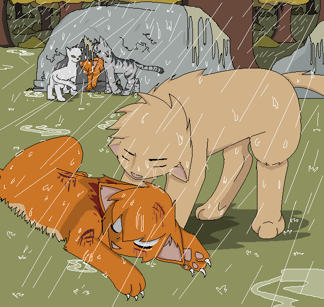 Saddest Warrior cats death during dark forest battle