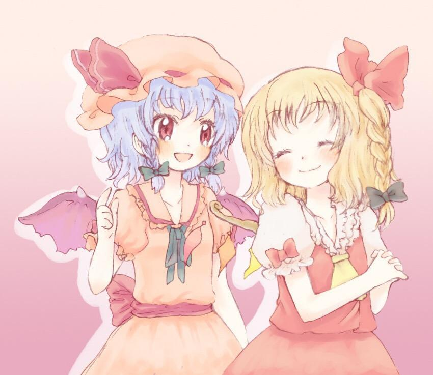 Touhou- which sister do you like more, Remilia or Flandre?