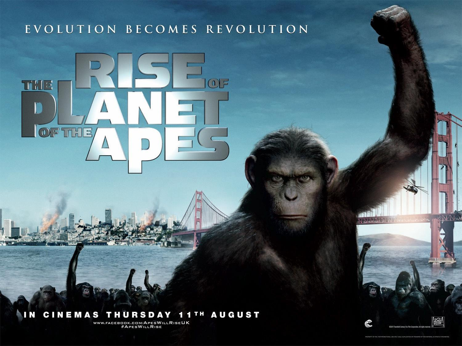 Which planet of the apes movie is the best, 1968 to 2014?