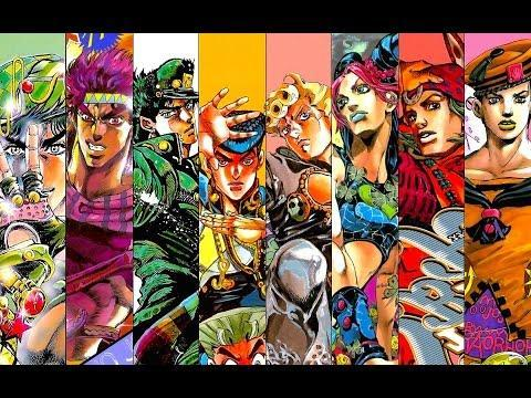 What is your favorite Jojo's Bizarre Adventure part?