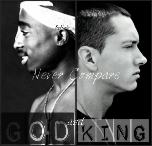 Who should be Rap God Tupac or Eminem?