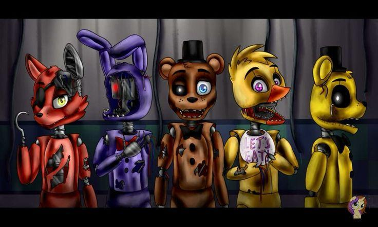 Which FNAF 2 Character Nickname Is The Best?