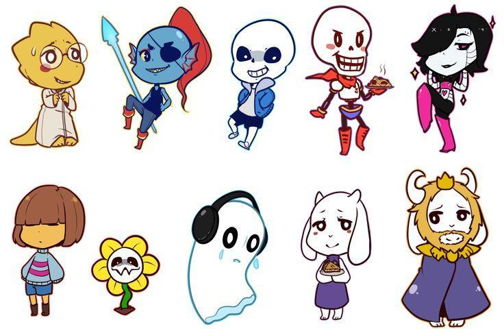 Who is your favorite undertale character? (2)