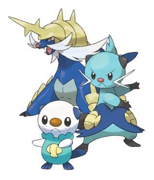 Favorite Oshawott Evolution