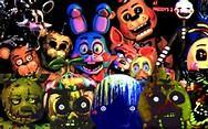 Who is stronger? Marionette, Golden Freddy or Springtrap?