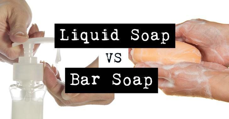 Bar Soap vs Liquid Soap - which one do you prefer?
