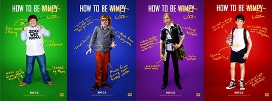 Diary of a wimpy kid books or Diary of a wimpy kid movies?
