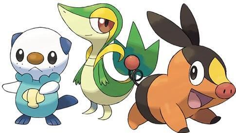 Favorite Unova Starter Pokemon