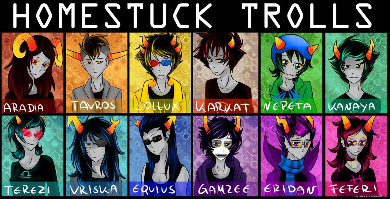 Which Homestuck Troll~