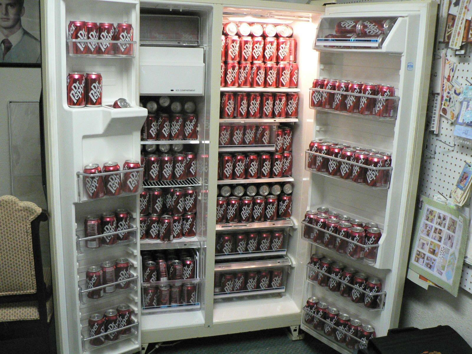What do you want your fridge filled with?