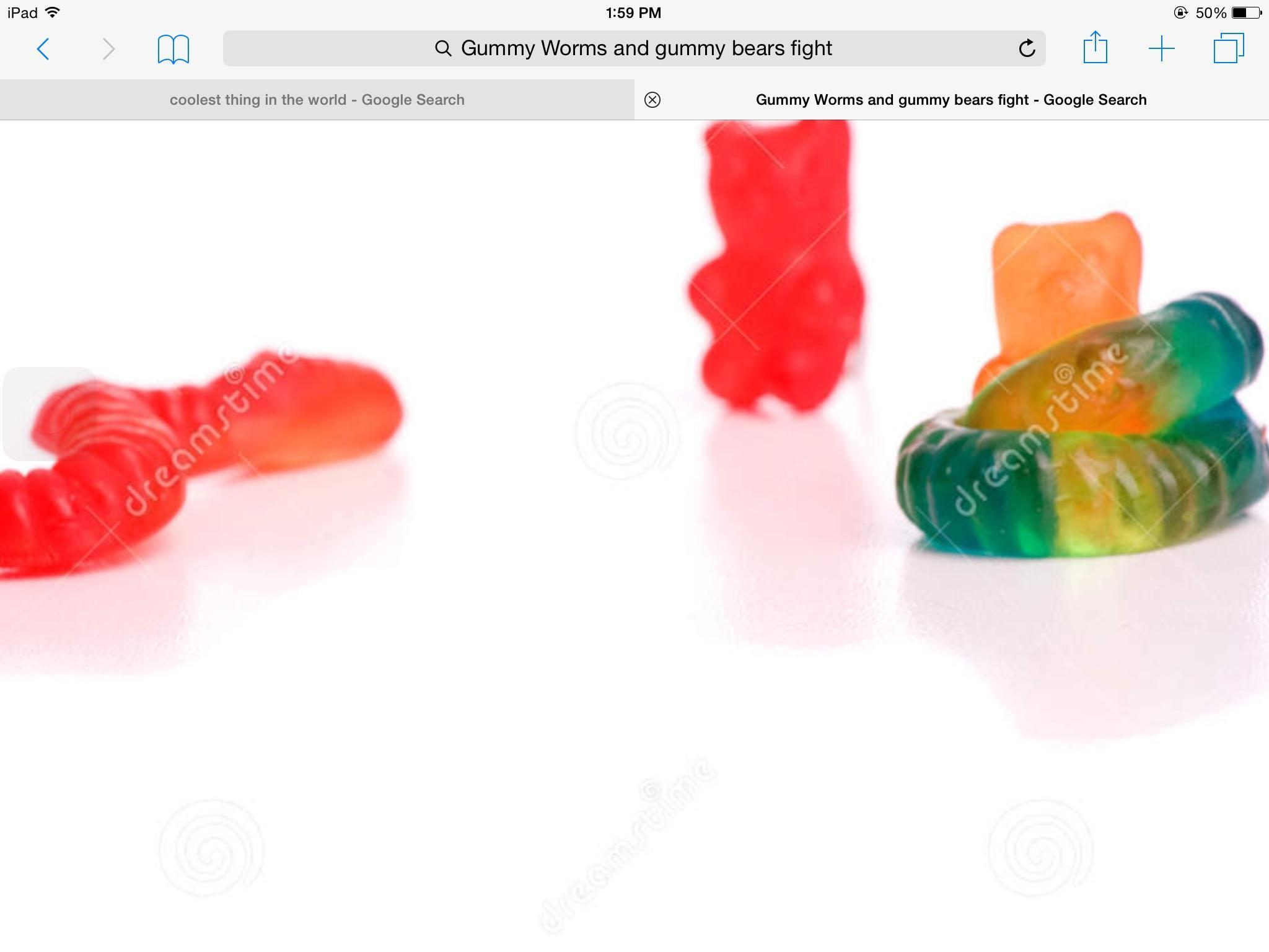 Gummy worms or gummy bears?