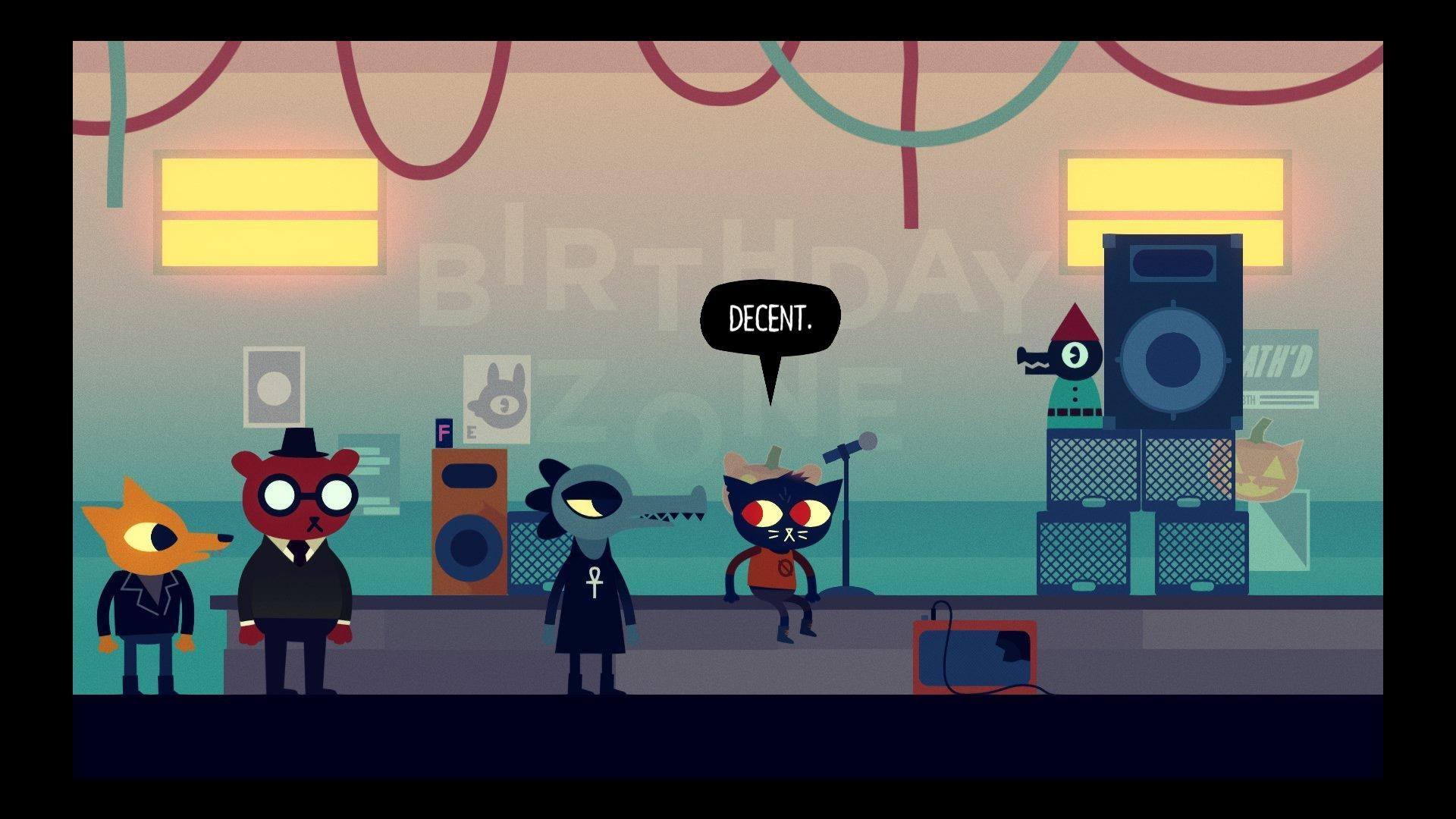 What fan-art from Night in the woods should be drawn?