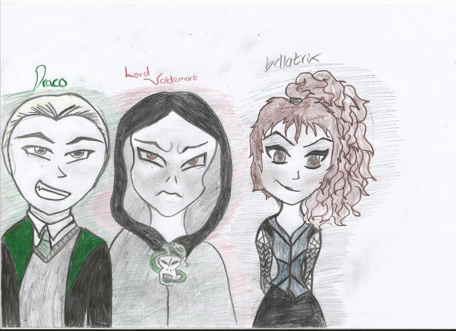 Voldemort, Draco or Bellatrix?