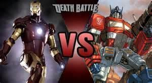 Iron Man vs. Optimus Prime FIGHT