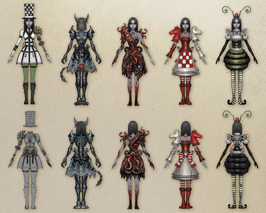 Which outfit from American Mcgee's Alice do you like more? (DLC Set)