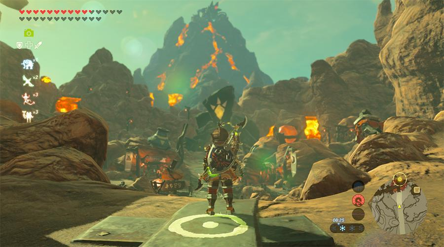 What was the first town you found in zelda: Breath of the Wild?
