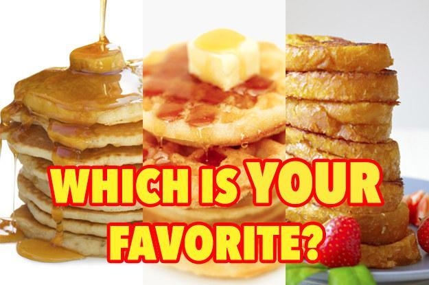Pancakes,Waffles,or French Toast