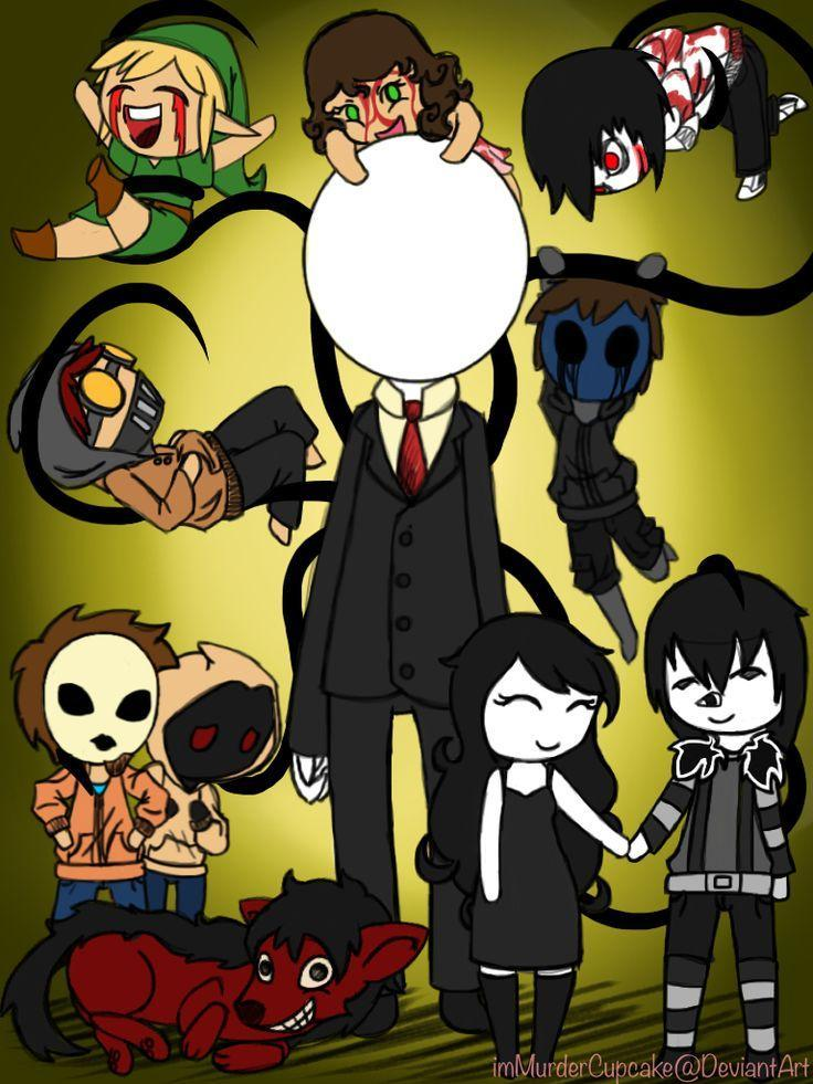 which creepypasta person is your favorite?