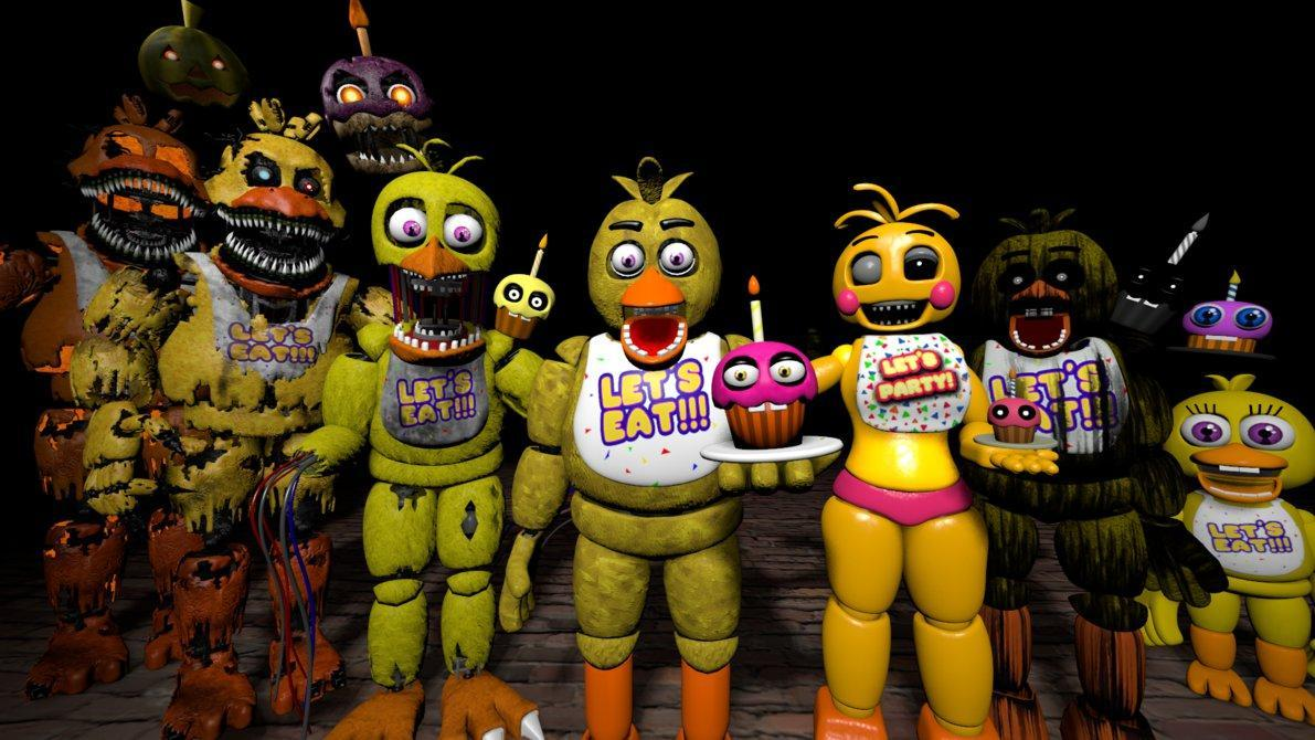 Which type of Chica is your favorit?
