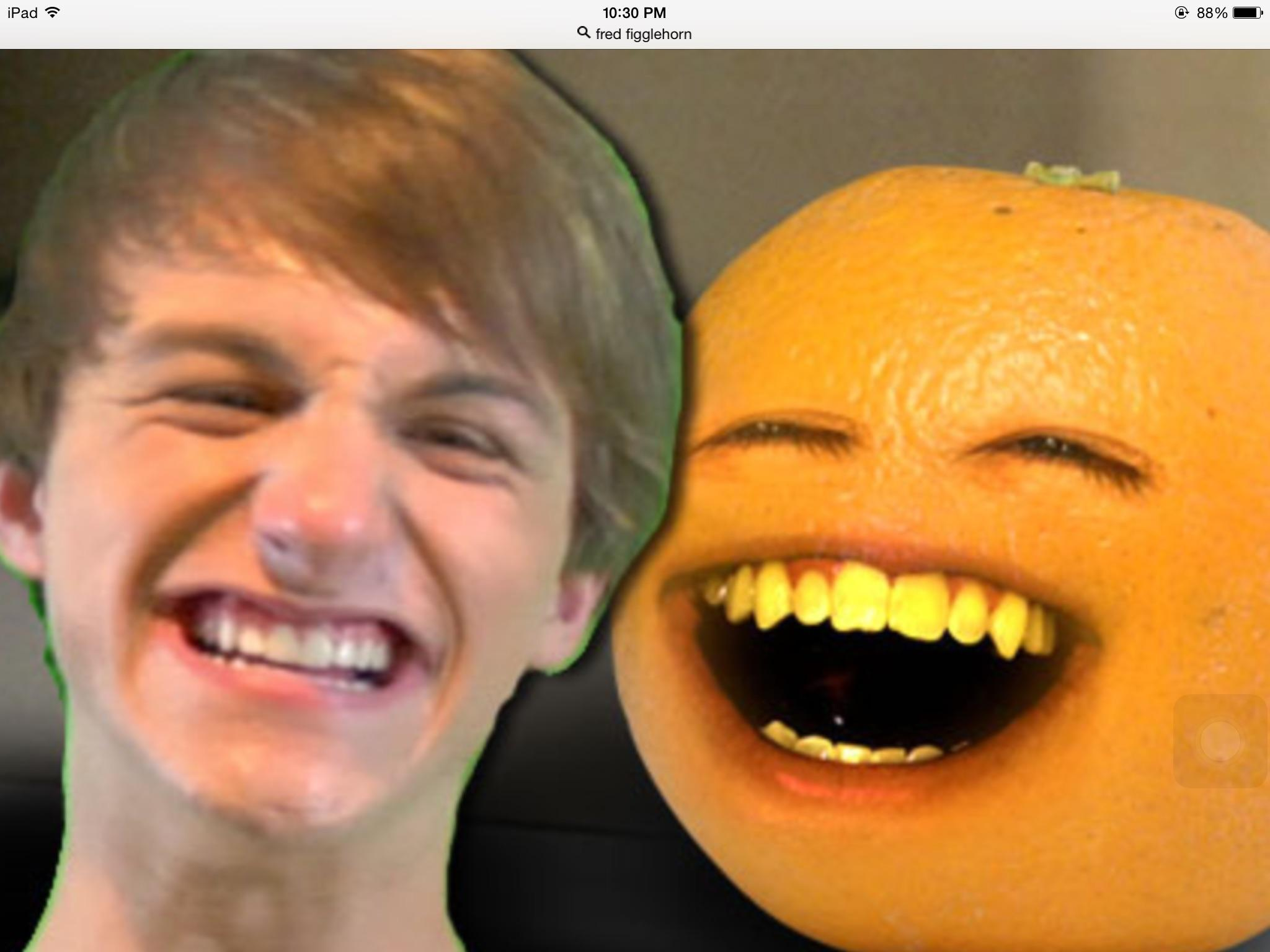 Fred or Annoying Orange?