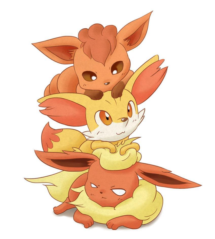 Which fox Pokemon's are cuter?