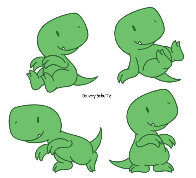 What Chibi dinosaur is cutest?