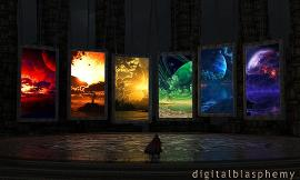 What portal would you go through? Remember no re-dos. All decisions final to what you choice.