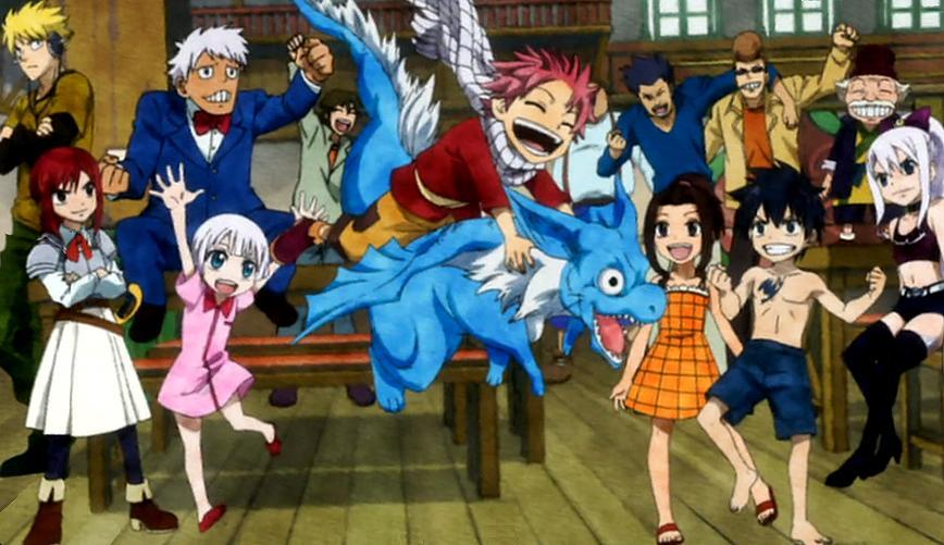 Who is cuter when they were younger? Fairy Tail