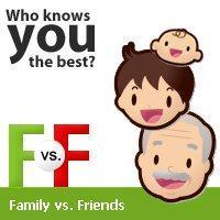 Would you rather hang with family or friends?