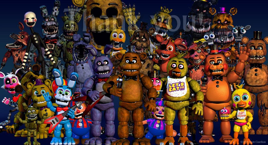 If you were stuck in a Fnaf game which would it be?
