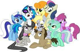 Who Is best MLP Background Pony?