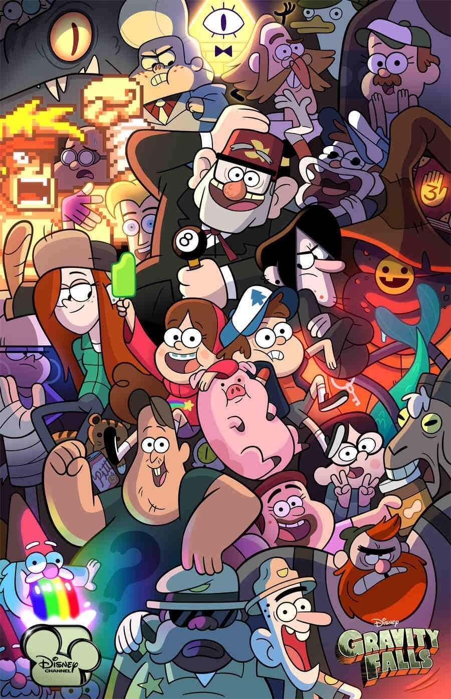 Which Gravity Falls Character is better?