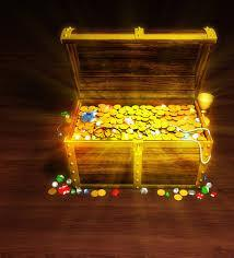 Considering your usual luck, if you found a treasure chest what would you find in it?