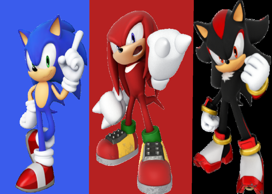 Sonic, Shadow, or Knuckles