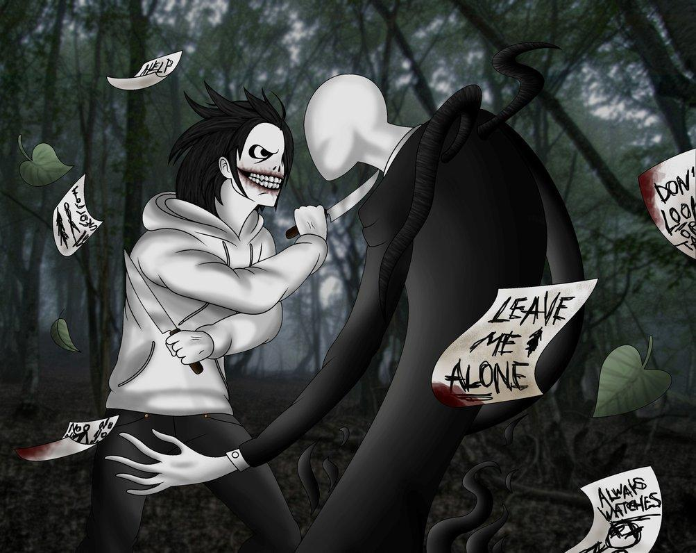 Who would win in a fight:  Slenderman or Jeff the Killer?