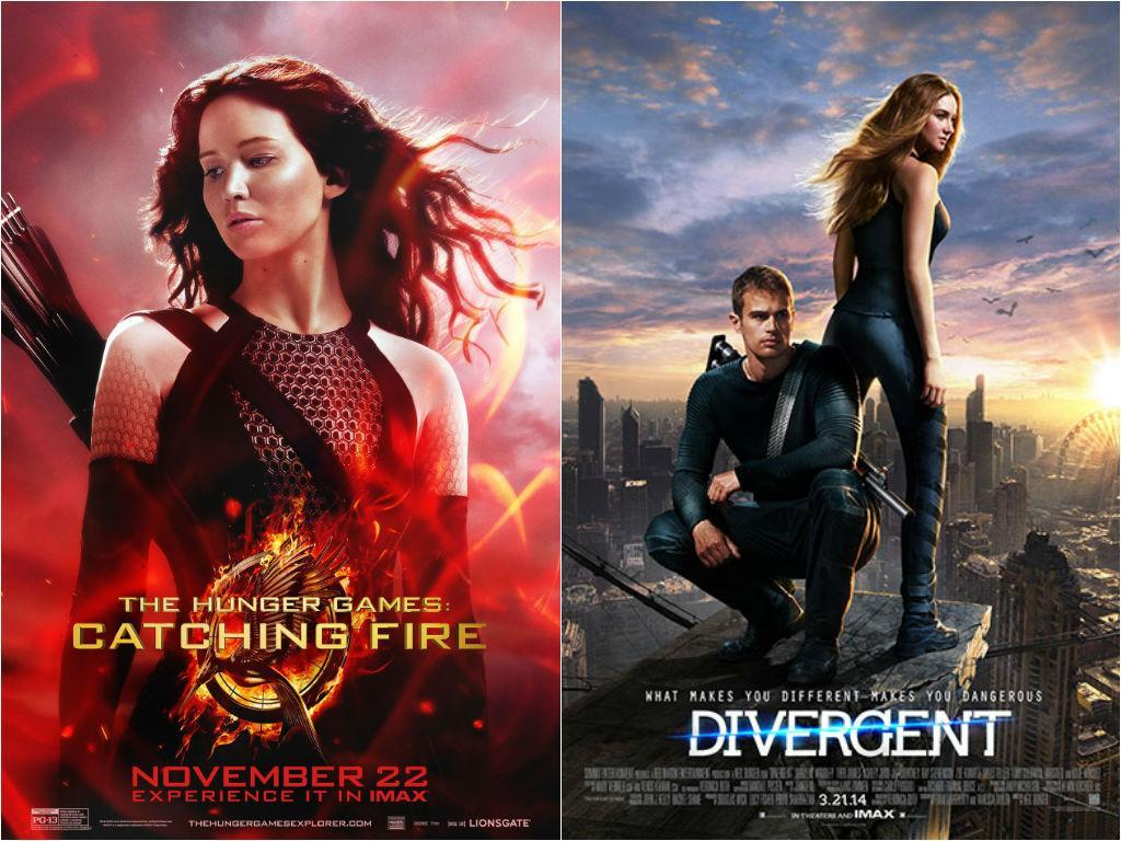 The hunger games or Divergent?