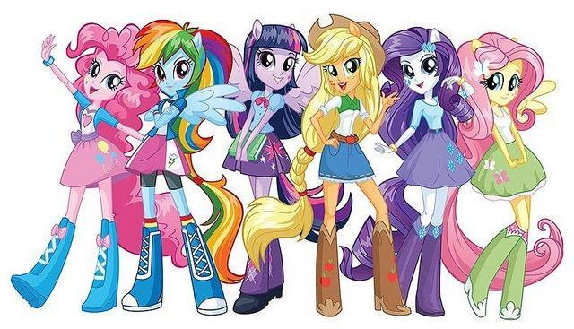My little pony or my little pony equestria girls?