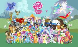 These are my pictures of celebrities dressed up as my little ponies! Pick which one you like best!