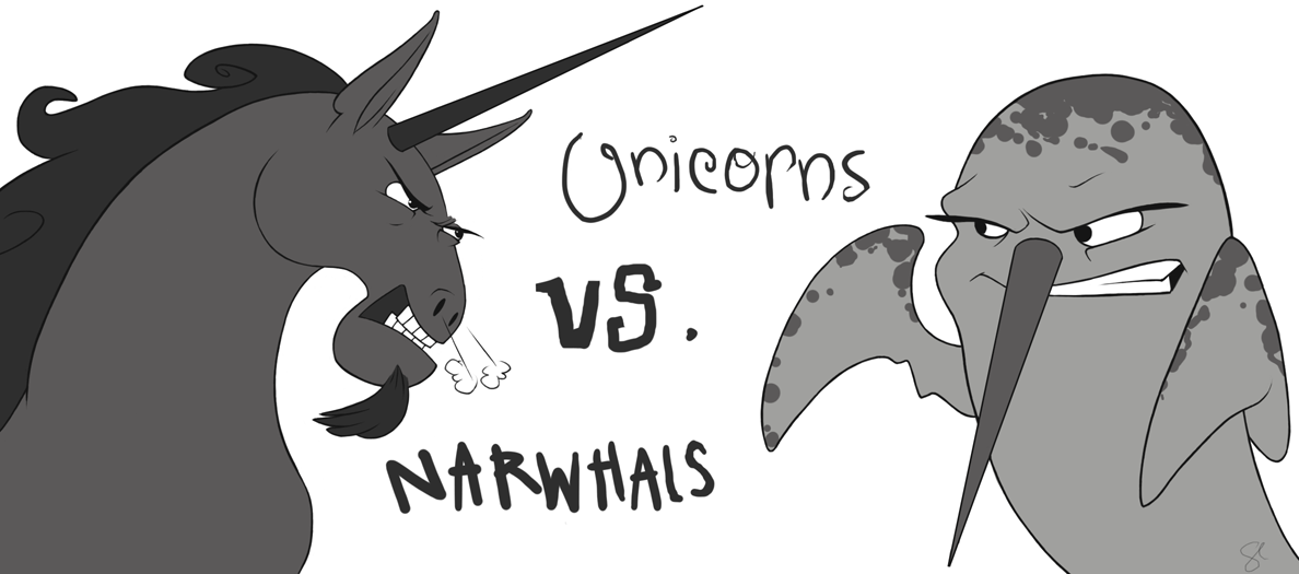 Unicorns or Narwhals?