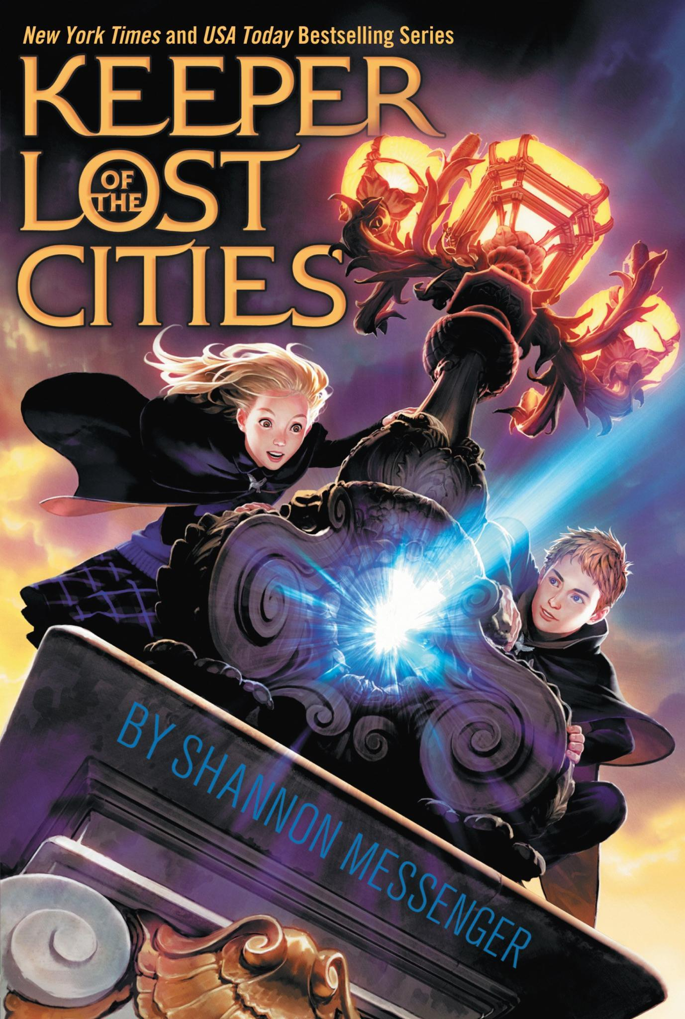 Anyone else know the book series Keeper Of The Lost Cities (By Shannon Messenger)?