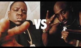 Tupac vs The notorious B.I.G (biggie)
