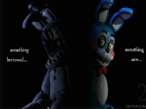 Withered bonnie or toy bonnie