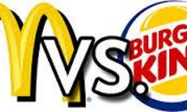 Mcdonald Burger vs Burger King Burger
