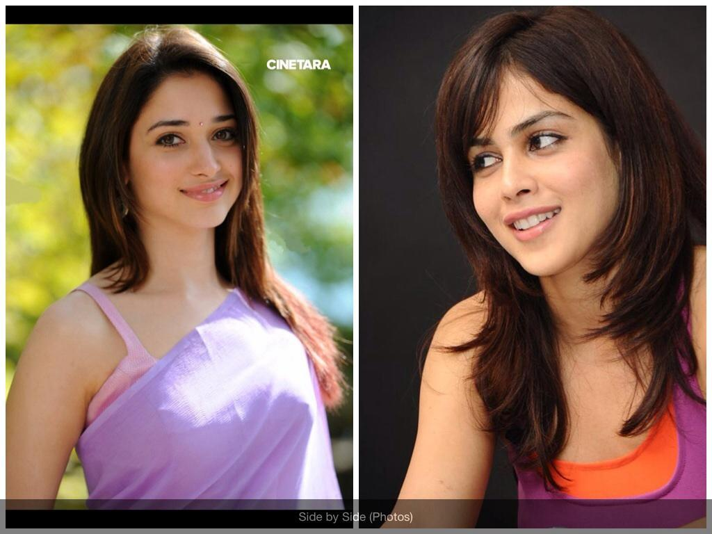 Do you like Tamanna Bhatia more or Genelia D'Souza
