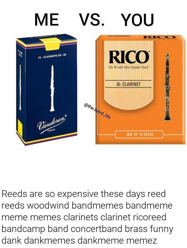 Favoured reed brand?