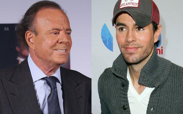 Which singer is more popular: Enrique Iglesias or Julio Iglesias?