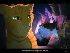 Who should Firestar be with?