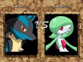 Gardevoir or Lucario: who would win?