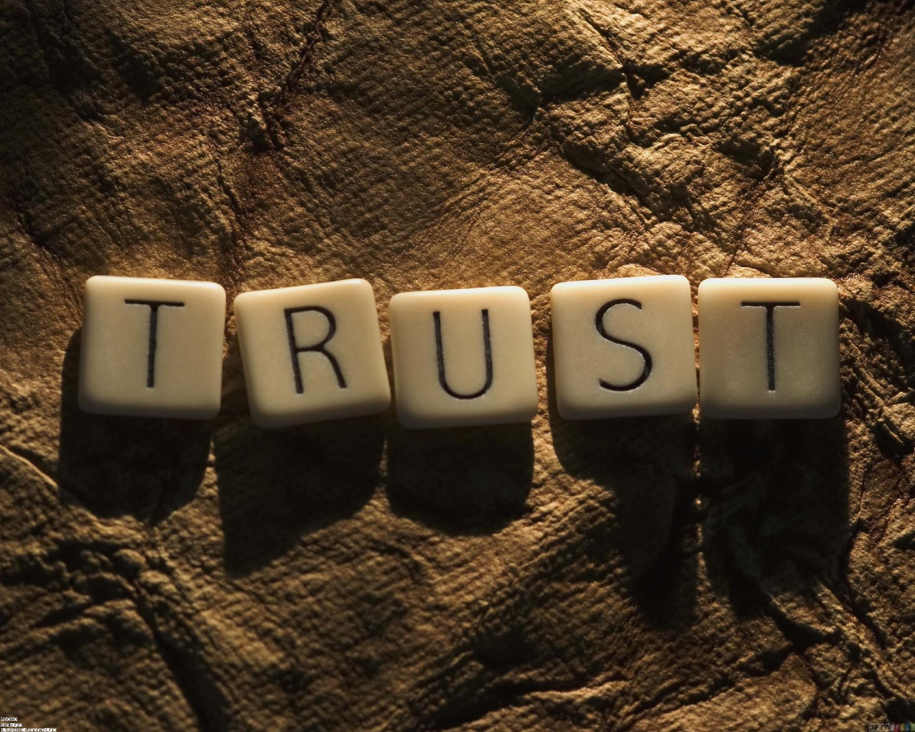 Do you trust yourself?