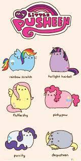 which mlp pusheen is the cutest?